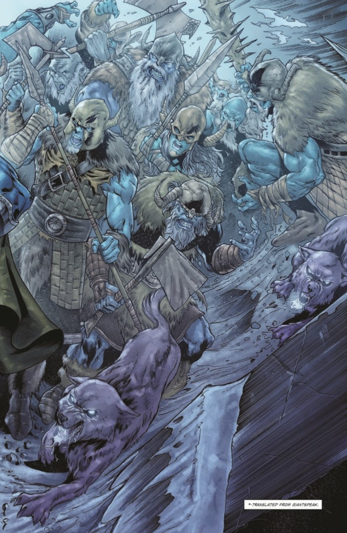 comiclist previews dungeons and dragons frost giant s fury