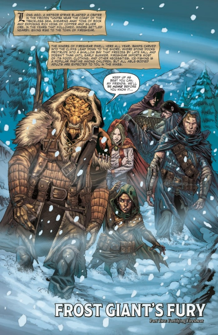 comiclist preview dungeons and dragons frost giants fury 2