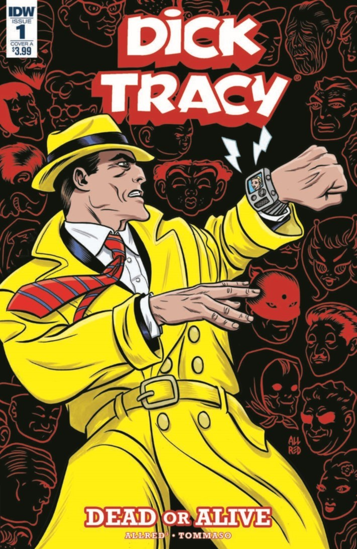 Comiclist Previews Dick Tracy Dead Or Alive 1