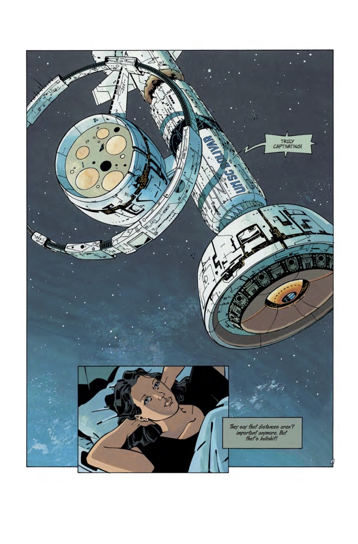 FOREVER_FREE_1_Art 1 ComicList Previews: THE FOREVER WAR FOREVER FREE #1