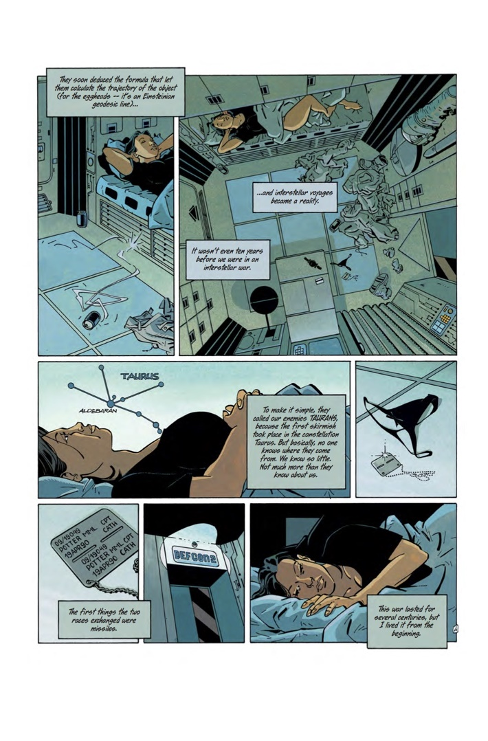 FOREVER_FREE_1_Art 3 ComicList Previews: THE FOREVER WAR FOREVER FREE #1