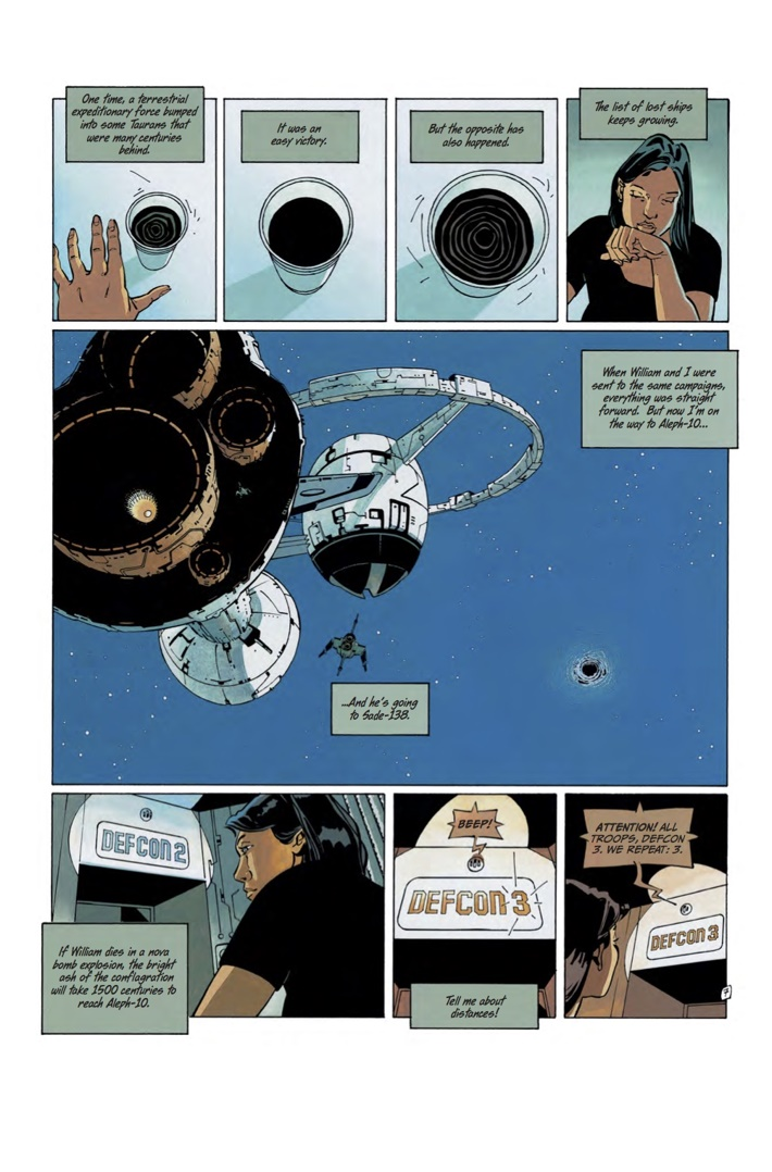 FOREVER_FREE_1_Art 4 ComicList Previews: THE FOREVER WAR FOREVER FREE #1