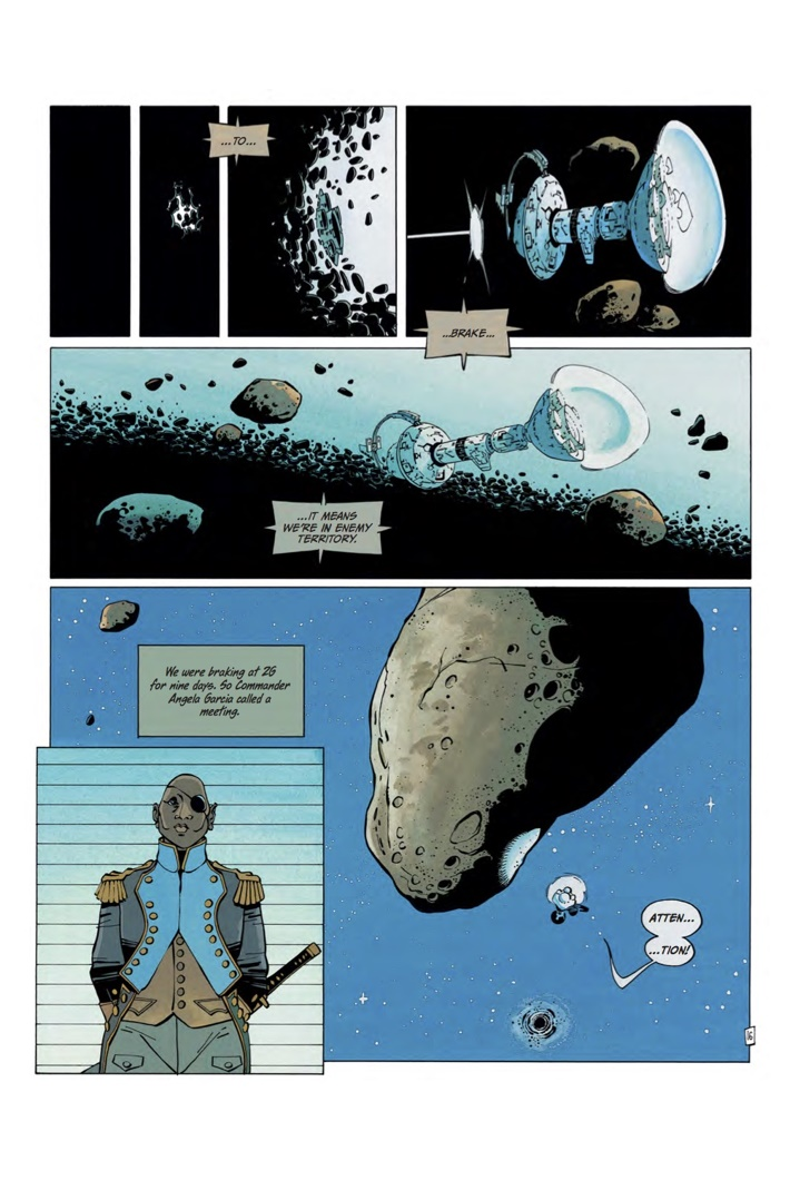 FOREVER_FREE_1_Art 6 ComicList Previews: THE FOREVER WAR FOREVER FREE #1