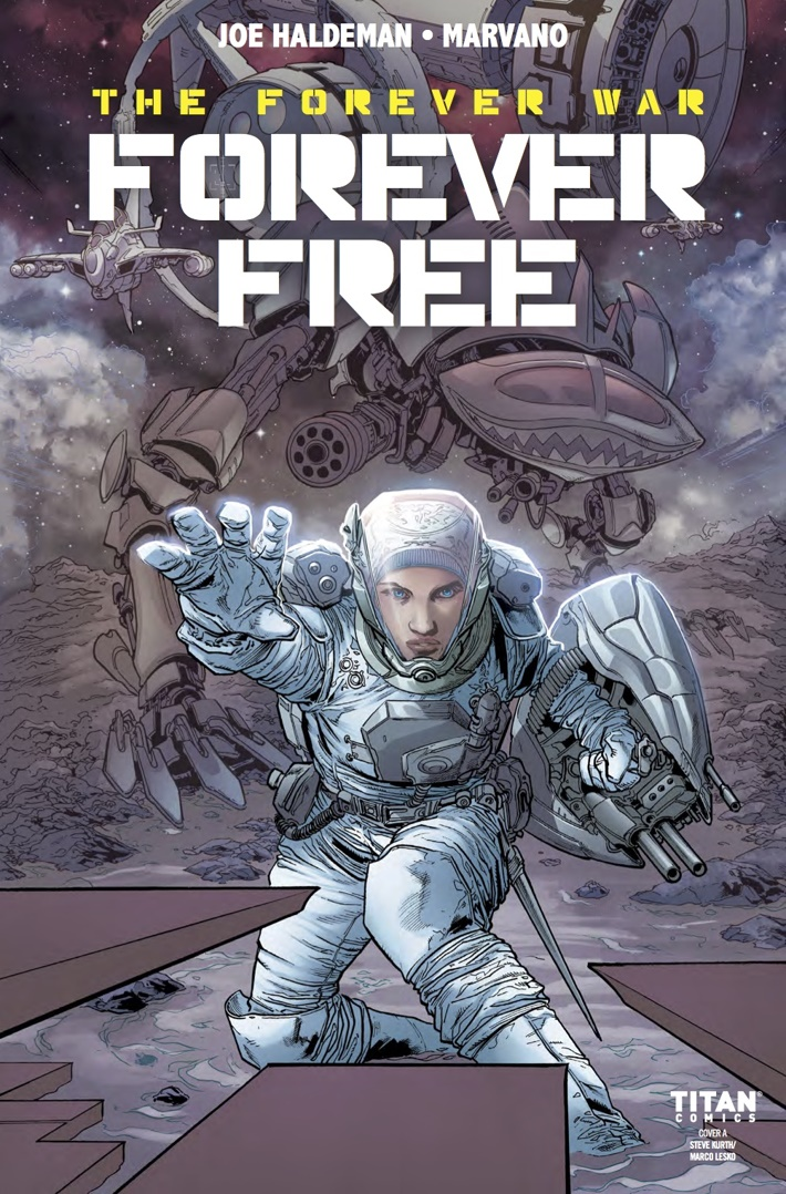FOREVER_FREE_1_Cover A ComicList Previews: THE FOREVER WAR FOREVER FREE #1