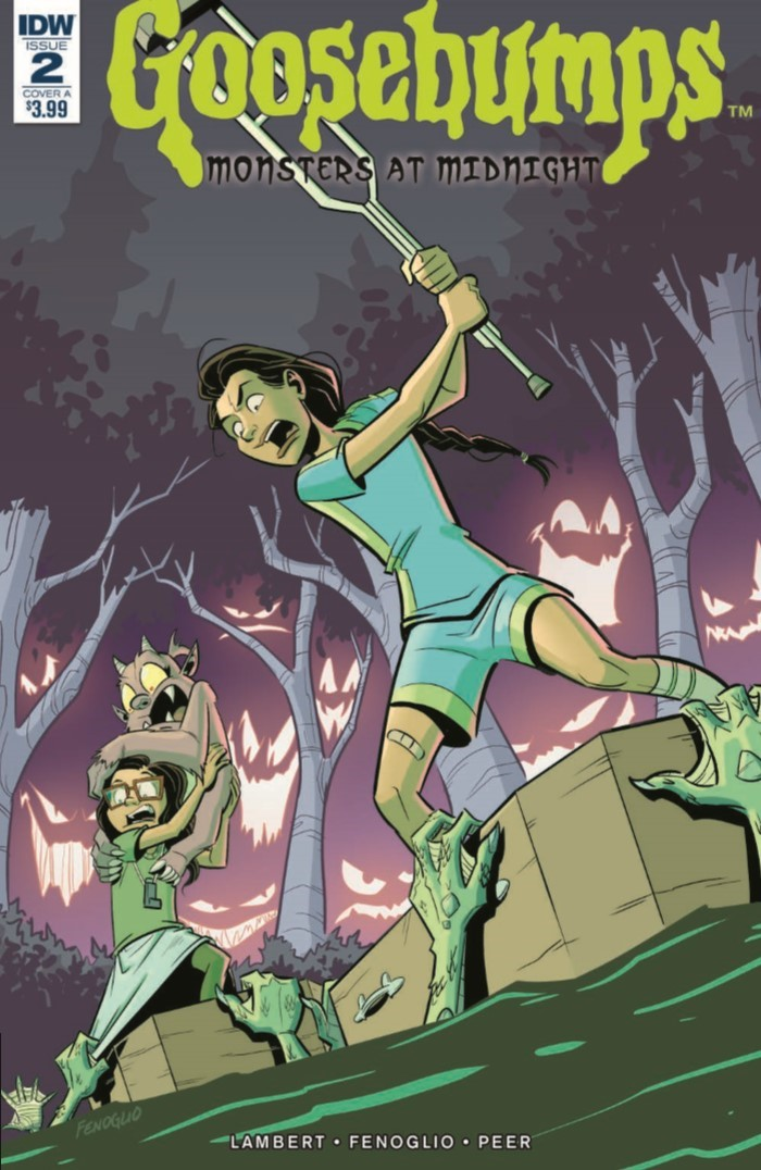 Comiclist Previews Goosebumps Monsters At Midnight 2