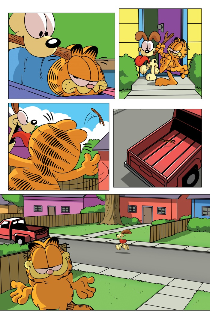 X Out Reviews >> ComicList Preview: GRUMPY CAT GARFIELD #1