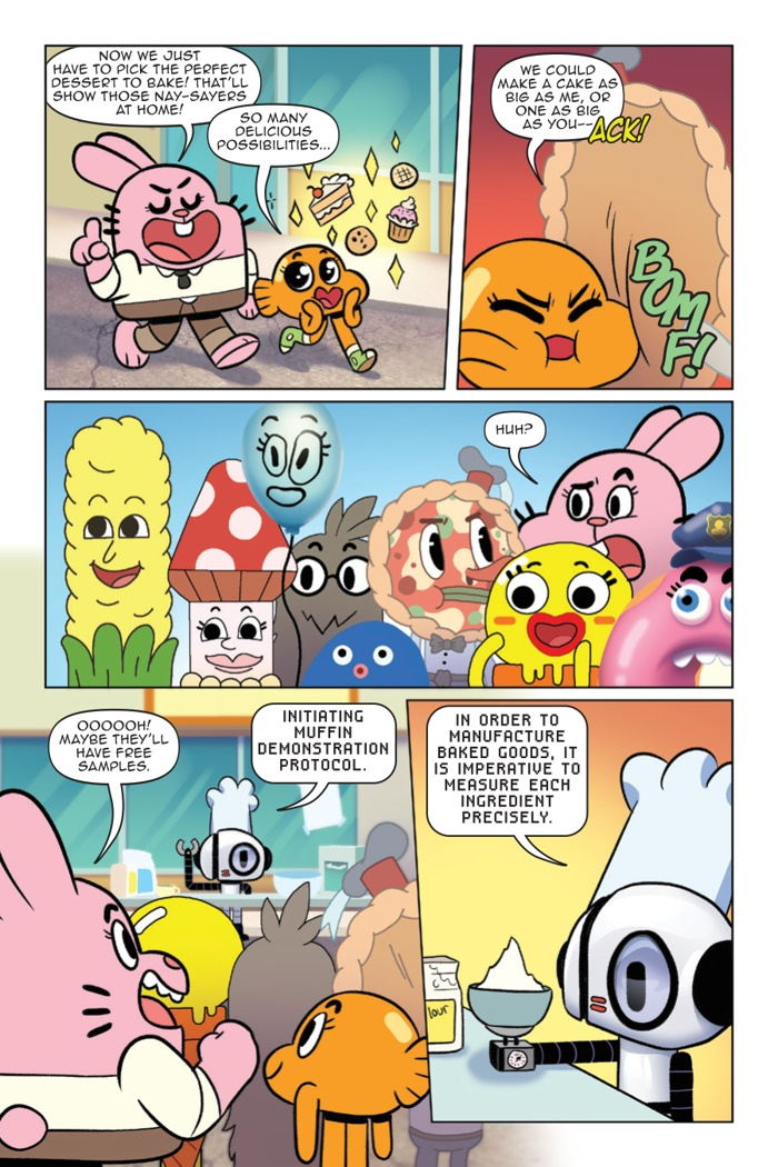 ComicList Preview: THE AMAZING WORLD OF GUMBALL ORIGINAL VOLUME 3 RECIPE FOR DISASTER GN