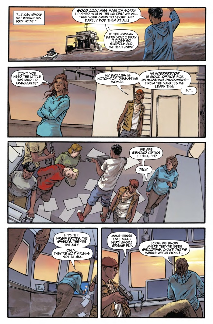 ComicList Preview: HOOK JAW #5
