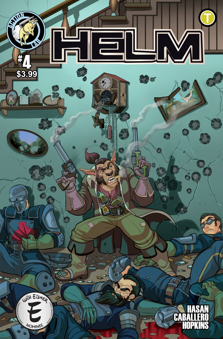 Helm 4 Cover ComicList Previews: HELM #4