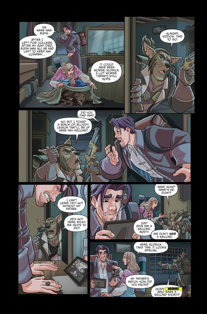 Helm 4 Page 10 ComicList Previews: HELM #4