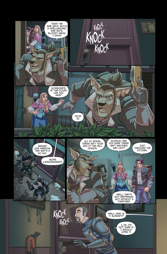 Helm 4 Page 11 ComicList Previews: HELM #4