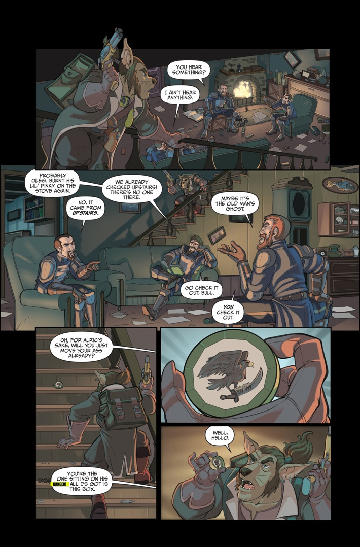 Helm 4 Page 9 ComicList Previews: HELM #4