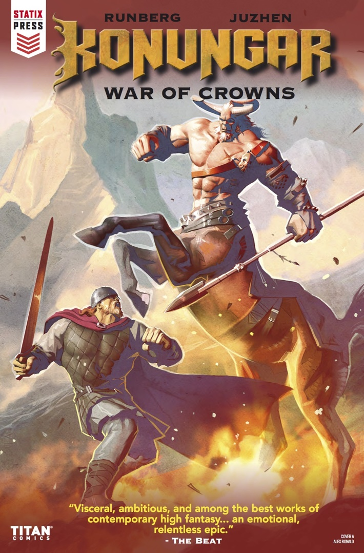 Konungar_1_Cover A ComicList Previews: KONUNGAR WAR OF CROWNS #1