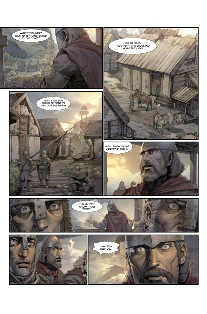 Konungar_1_Page 2 ComicList Previews: KONUNGAR WAR OF CROWNS #1