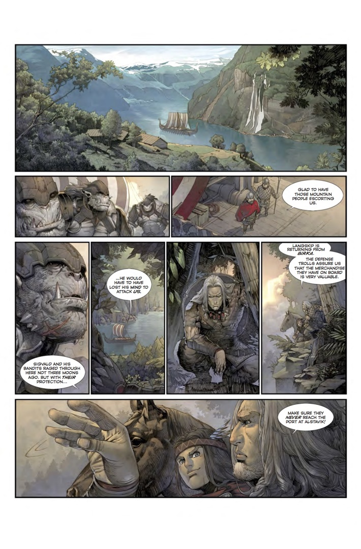 Konungar_1_Page 4 ComicList Previews: KONUNGAR WAR OF CROWNS #1