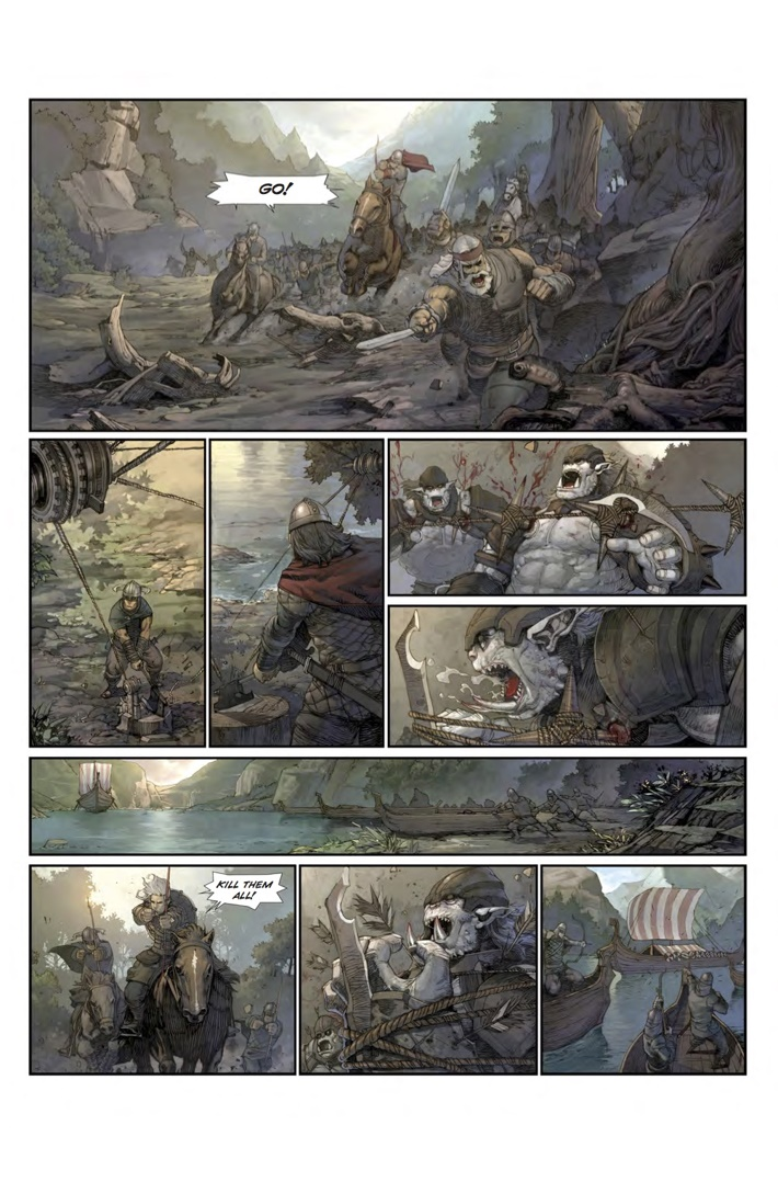 Konungar_1_Page 5 ComicList Previews: KONUNGAR WAR OF CROWNS #1