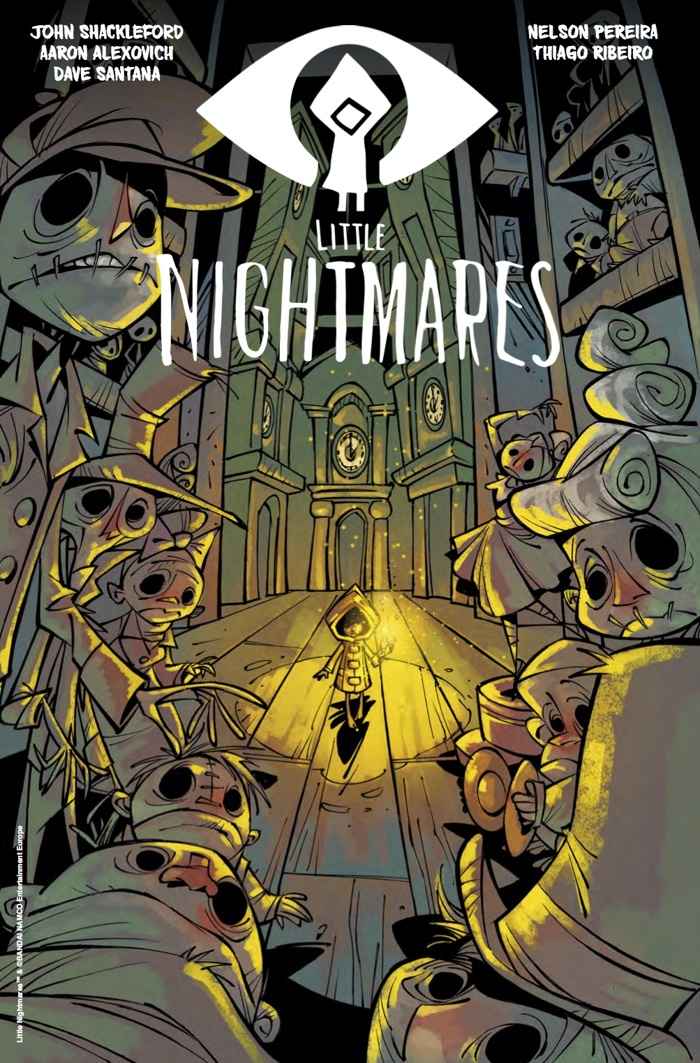 X Out Reviews >> ComicList Preview: LITTLE NIGHTMARES #2