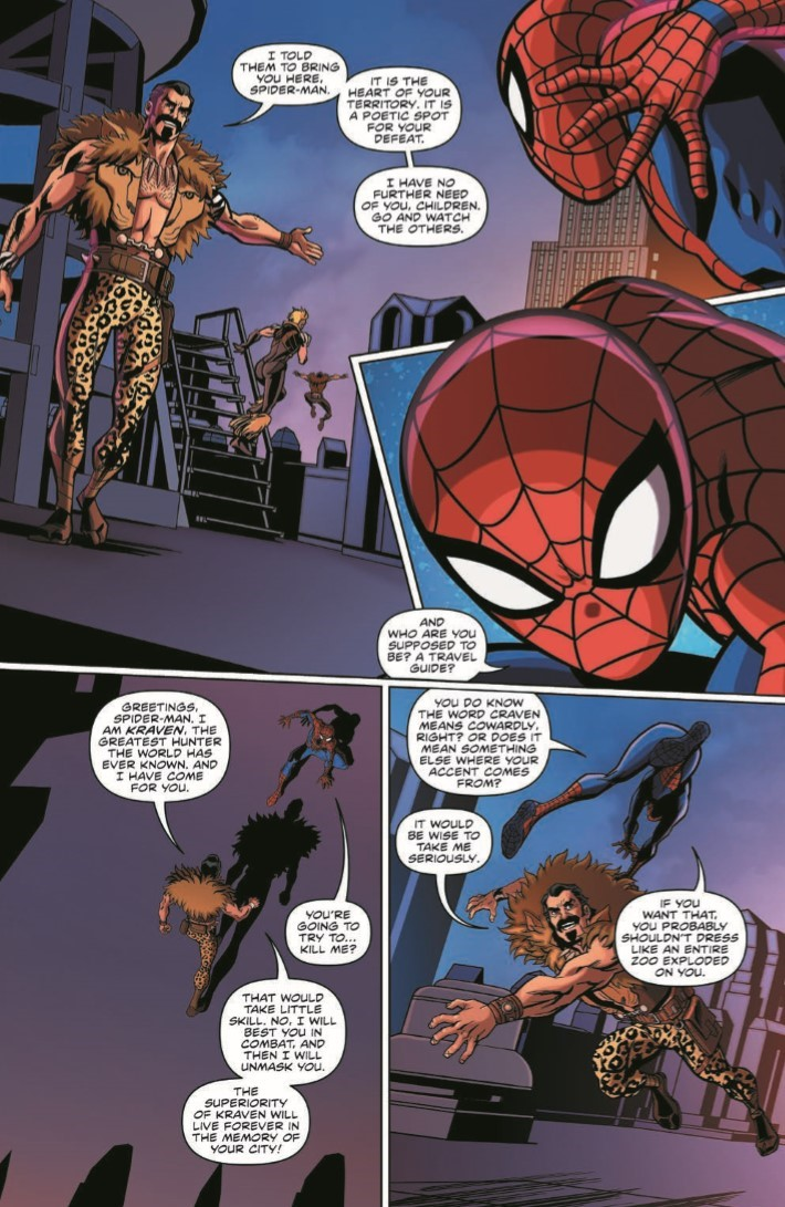 comiclist previews  marvel action spider