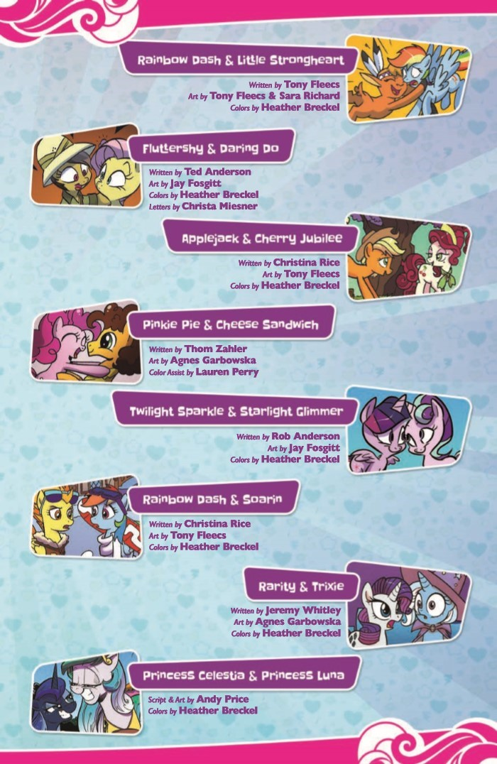 comiclist previews my little pony friends forever omnibus