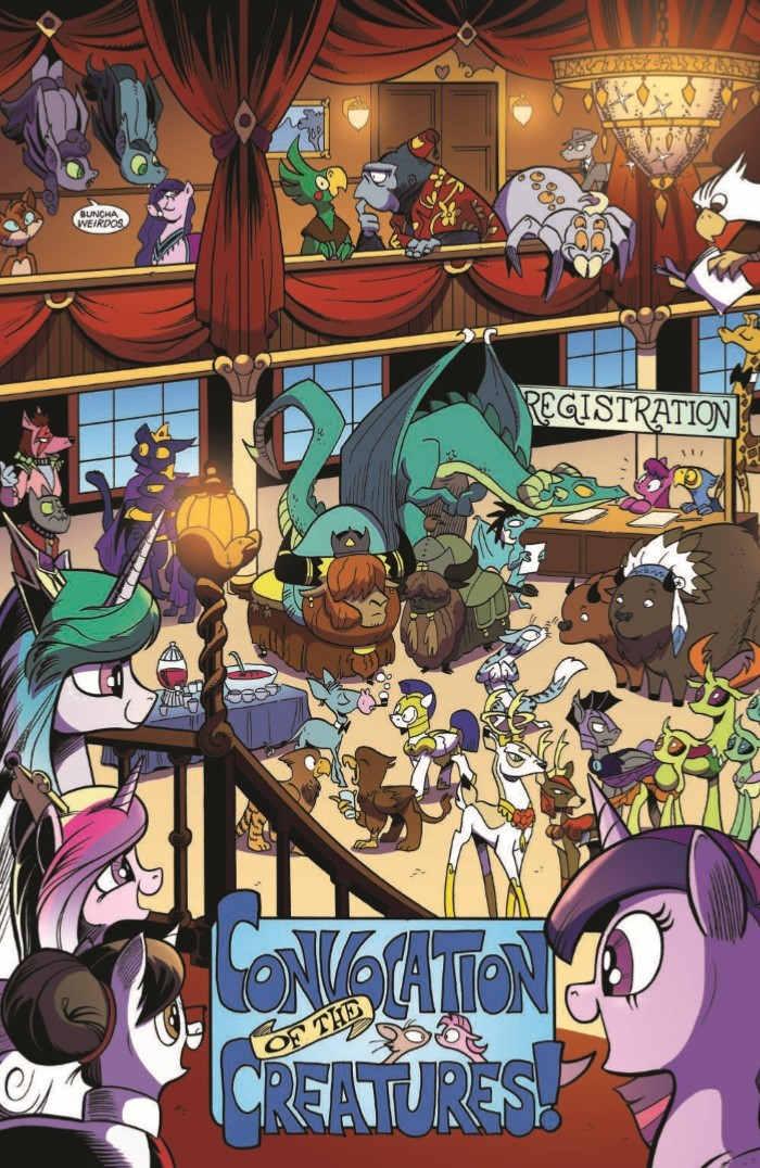 comiclist previews my little pony friendship is magic 61