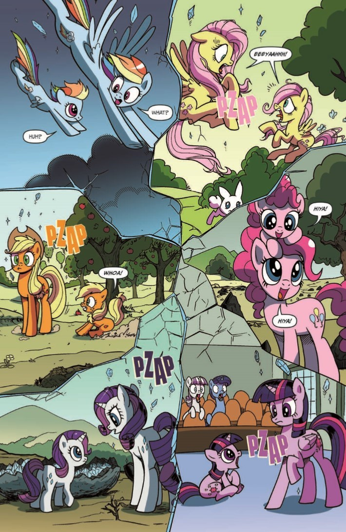 comiclist previews my little pony idw 2020 1