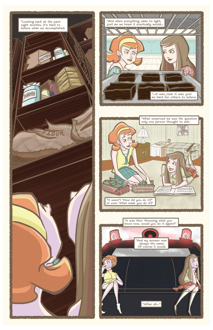 Nutmeg Hardcover Edition Fall 1 Page 1 ComicList Previews: NUTMEG FALL EDITION HC