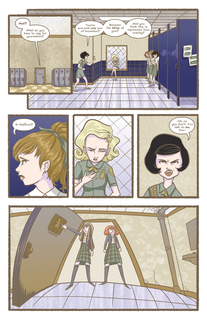 Nutmeg Hardcover Edition Fall 2 Page 9 ComicList Previews: NUTMEG FALL EDITION HC