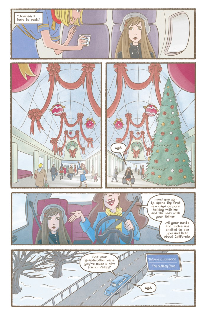 Nutmeg Volume 4 Page 2 ComicList Previews: NUTMEG VOLUME 4 LATE WINTER COVEN CLEANER TP