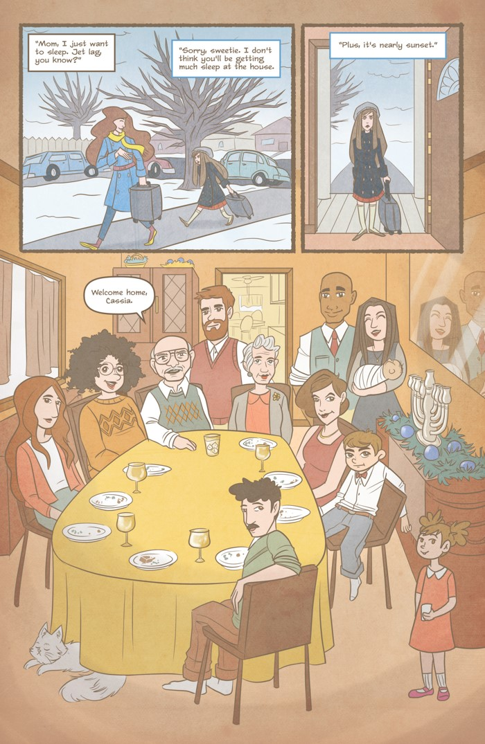 Nutmeg Volume 4 Page 3 ComicList Previews: NUTMEG VOLUME 4 LATE WINTER COVEN CLEANER TP