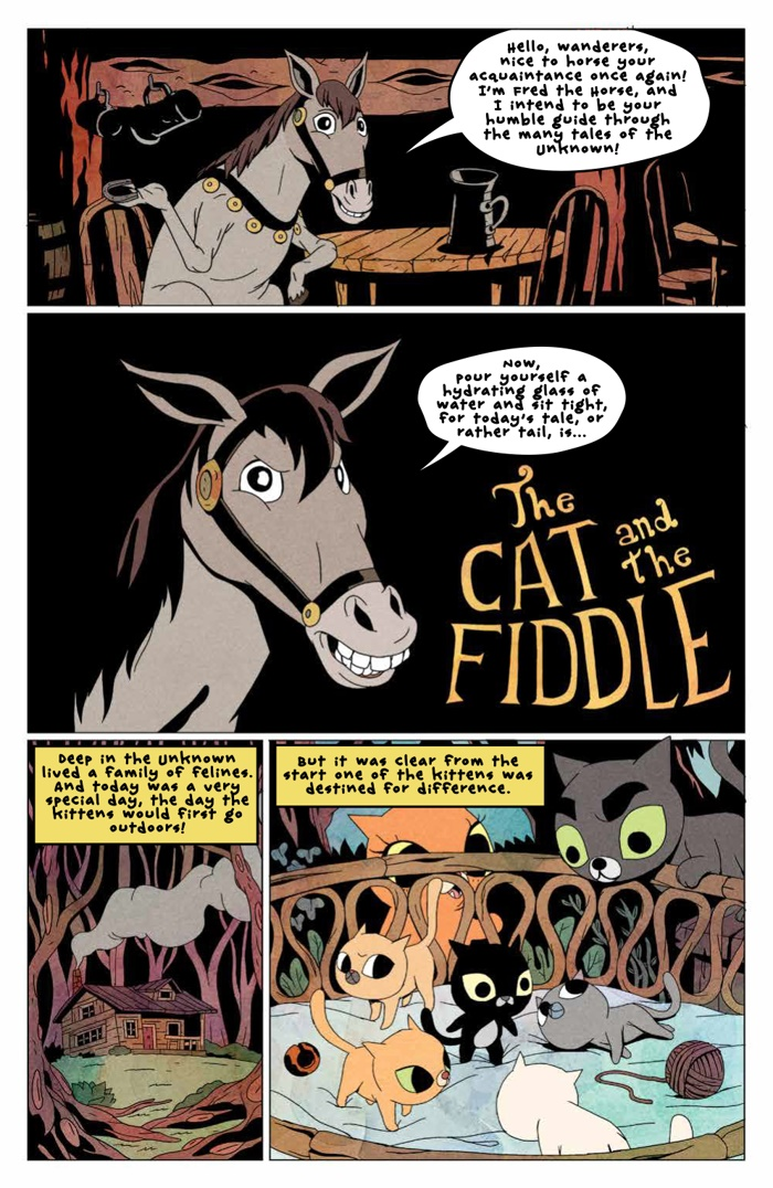 Comiclist Preview Over The Garden Wall 17