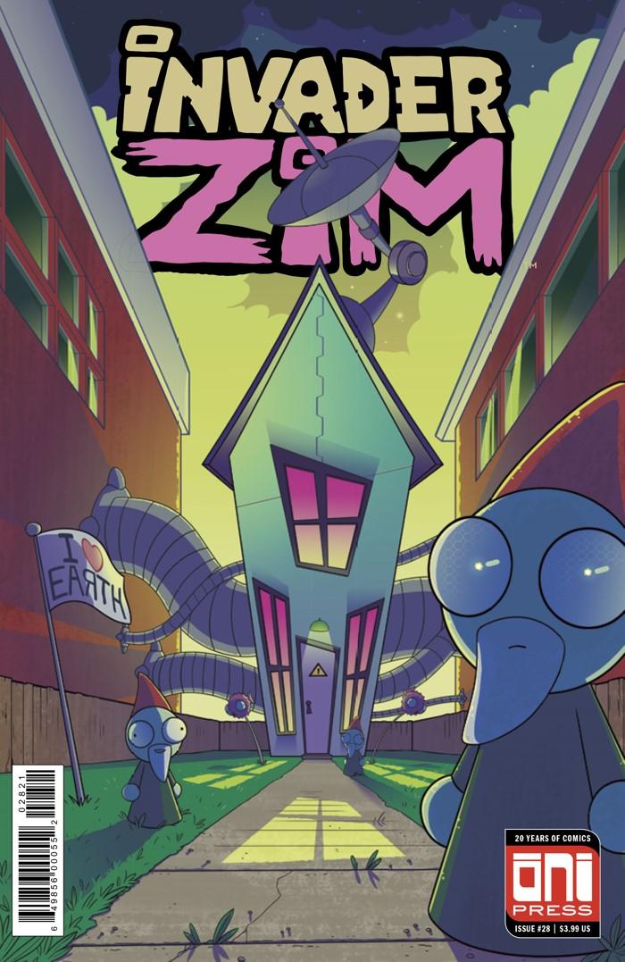 ComicList Previews INVADER ZIM 28