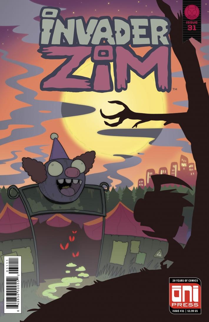 ComicList Previews INVADER ZIM 31
