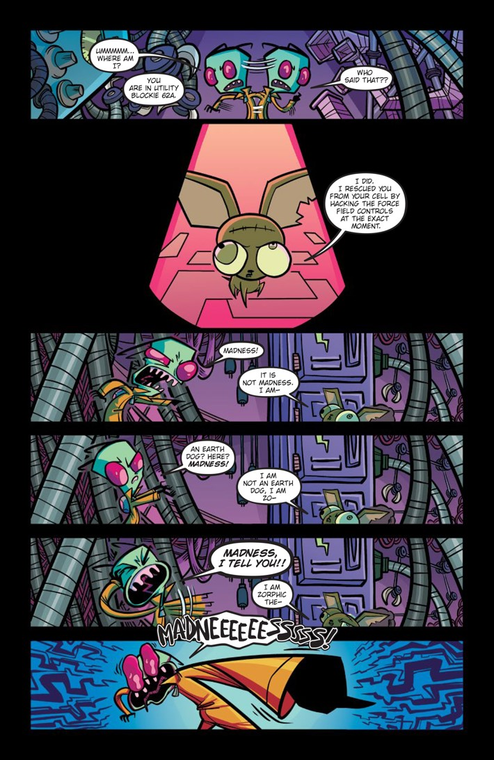 Comiclist Previews  Invader Zim  35
