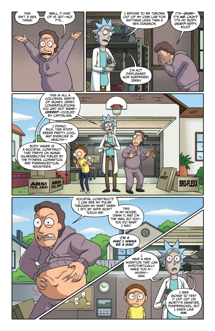 Rick And Morty Comic