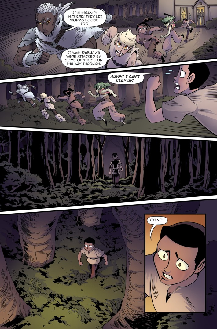 Princeless Volumw 7_5 Page 18 ComicList Previews: PRINCELESS VOLUME 7 FIND YOURSELF #5