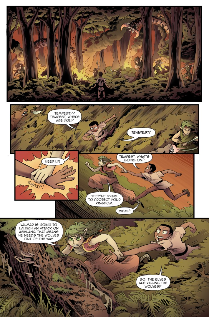 Princeless Volumw 7_5 Page 19 ComicList Previews: PRINCELESS VOLUME 7 FIND YOURSELF #5