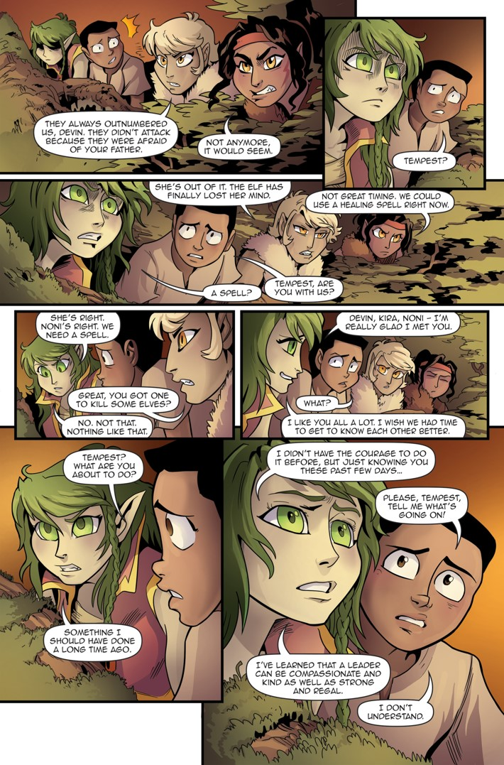 Princeless Volumw 7_5 Page 20 ComicList Previews: PRINCELESS VOLUME 7 FIND YOURSELF #5