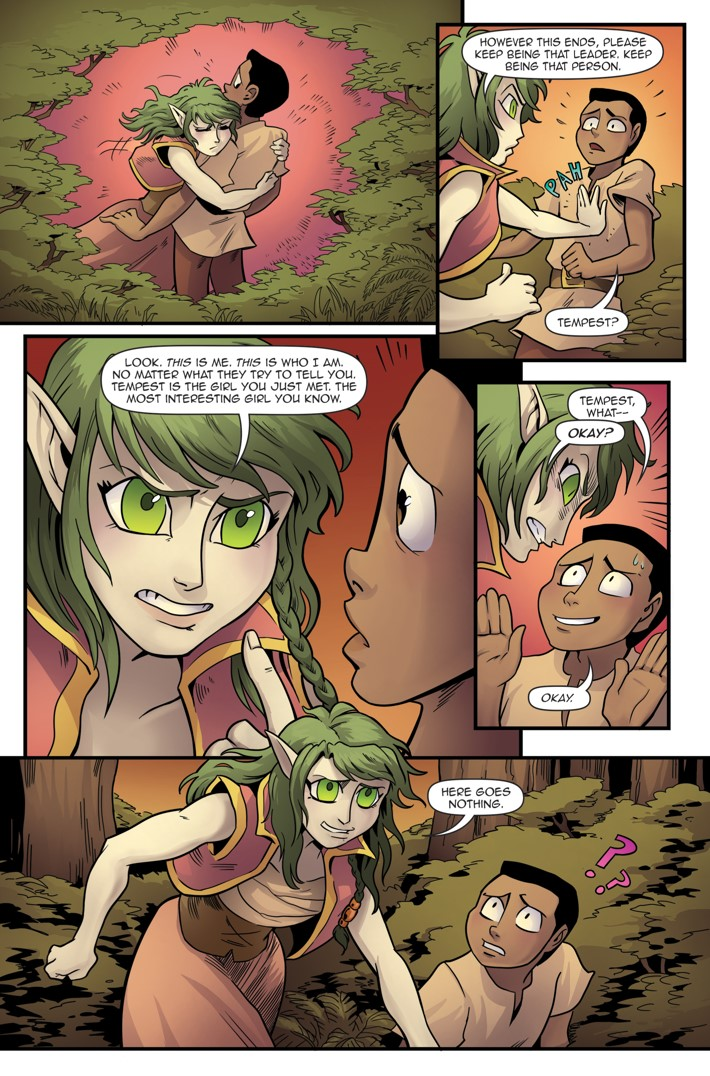 Princeless Volumw 7_5 Page 21 ComicList Previews: PRINCELESS VOLUME 7 FIND YOURSELF #5