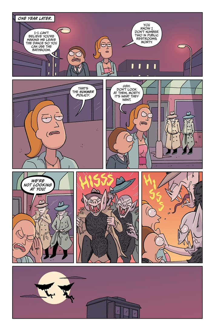 RICKMORTY 37 PAGE 02 ComicList Previews: RICK AND MORTY #37