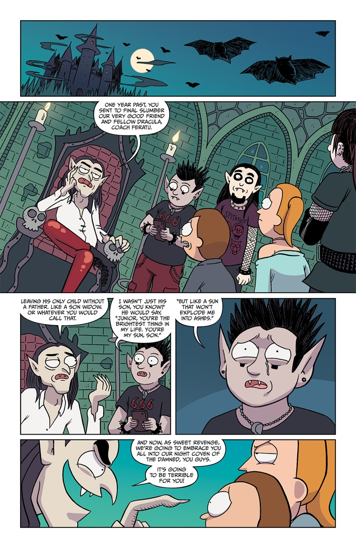 RICKMORTY 37 PAGE 03 ComicList Previews: RICK AND MORTY #37