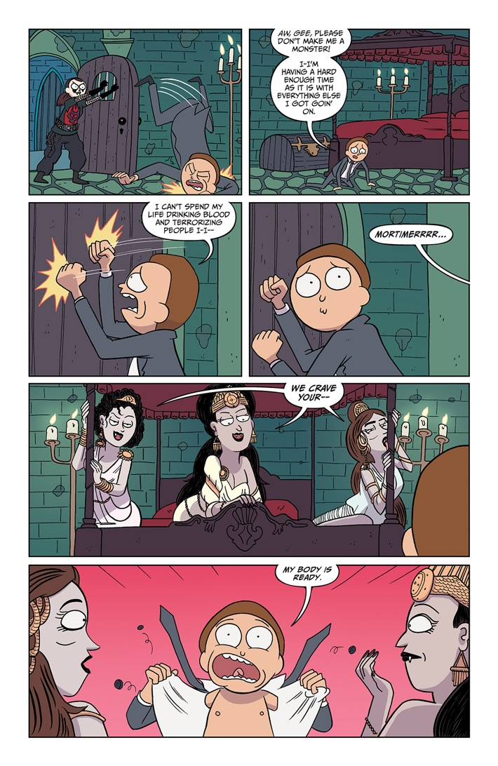 RICKMORTY 37 PAGES 05 ComicList Previews: RICK AND MORTY #37