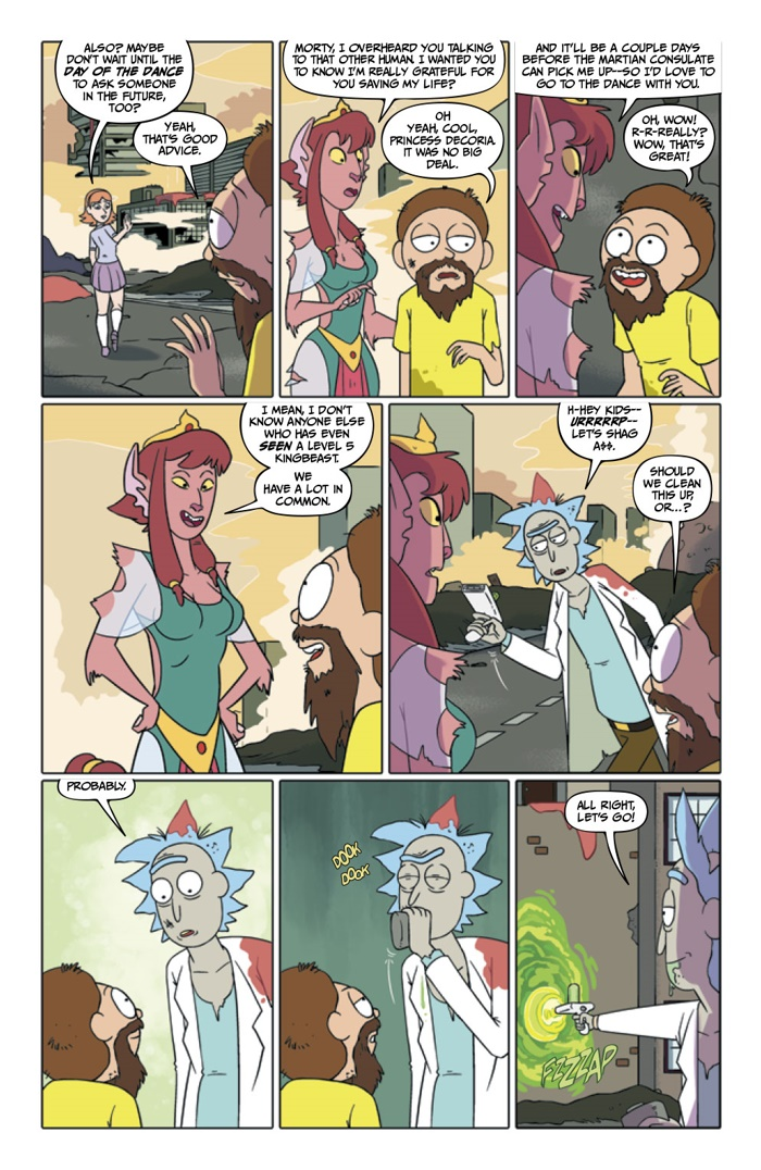 Comiclist Preview Rick And Morty 27
