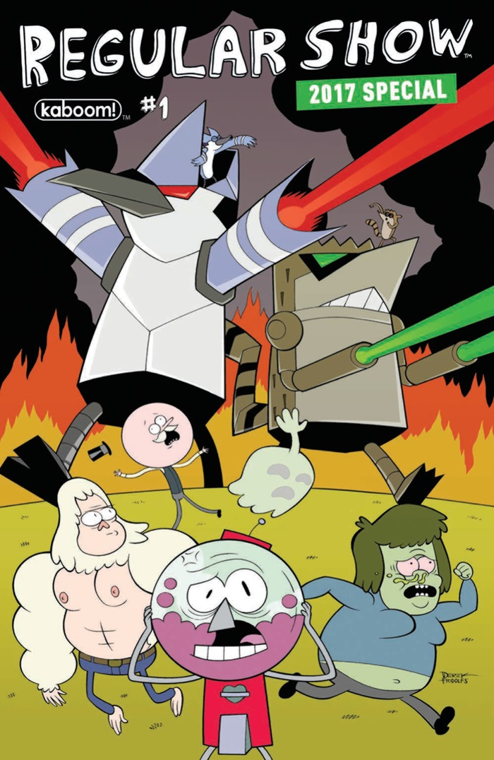 Comiclist Preview Regular Show 2017 Special 1