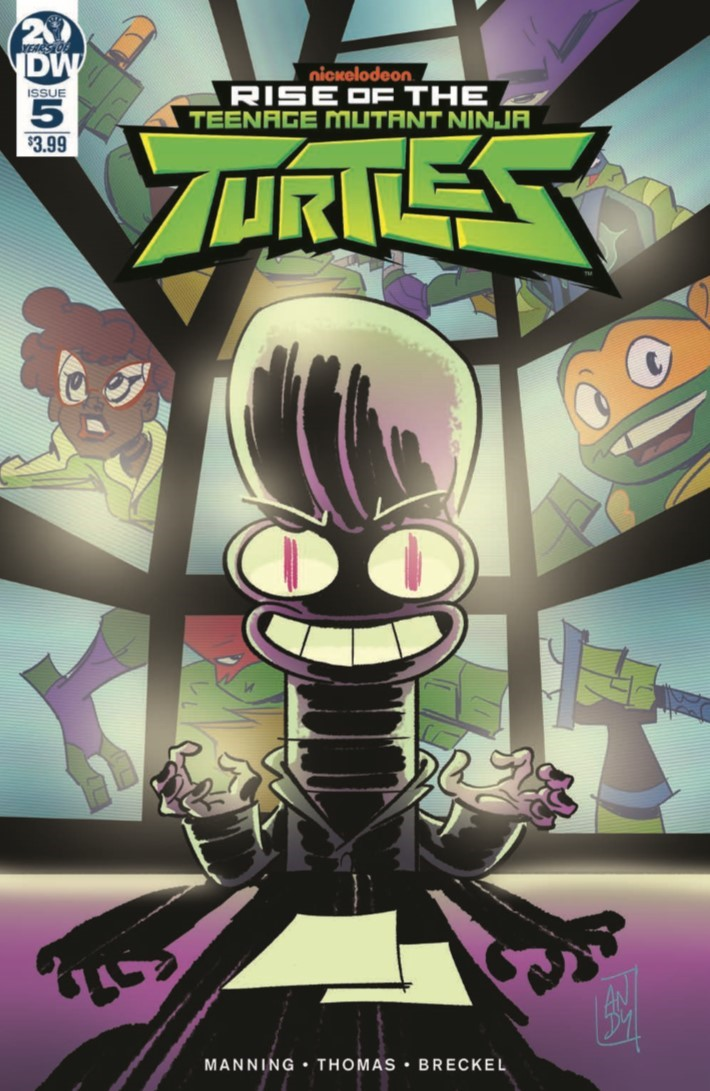 comiclist previews rise of the teenage mutant ninja