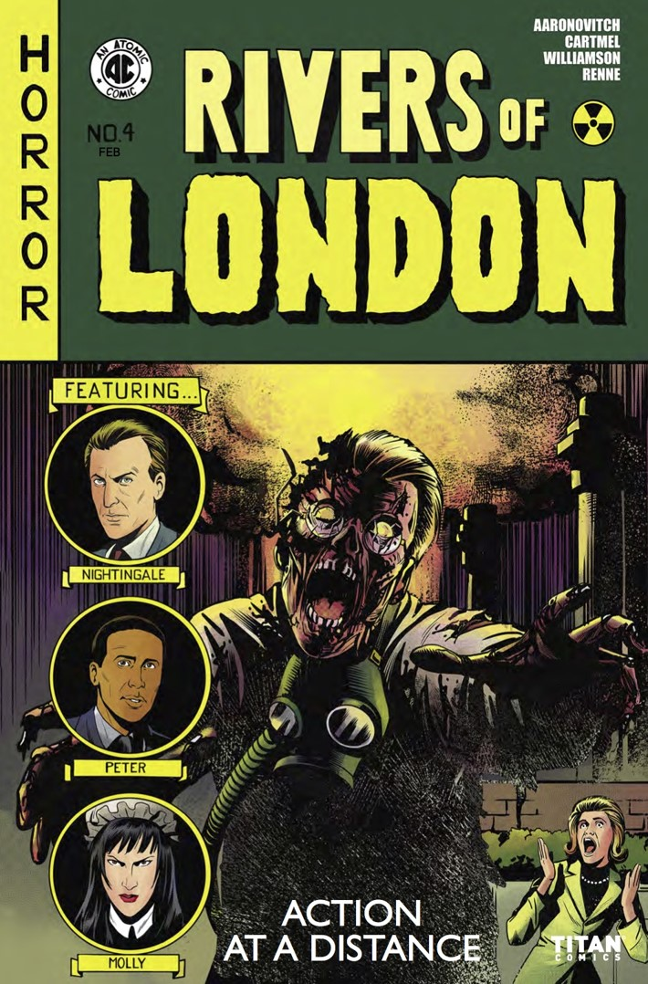 Rivers of London Action At A Distance 4 Cover A ComicList Previews: RIVERS OF LONDON ACTION AT A DISTANCE #4