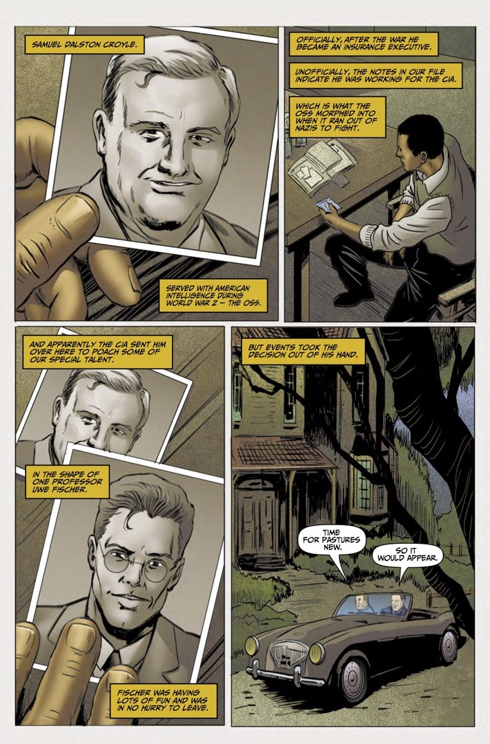 Rivers of London Action At A Distance 4 pg1 ComicList Previews: RIVERS OF LONDON ACTION AT A DISTANCE #4