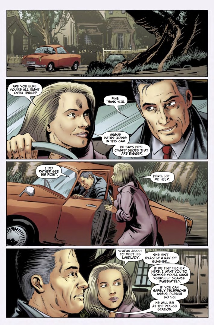 Rivers of London Action At A Distance 4 pg3 ComicList Previews: RIVERS OF LONDON ACTION AT A DISTANCE #4