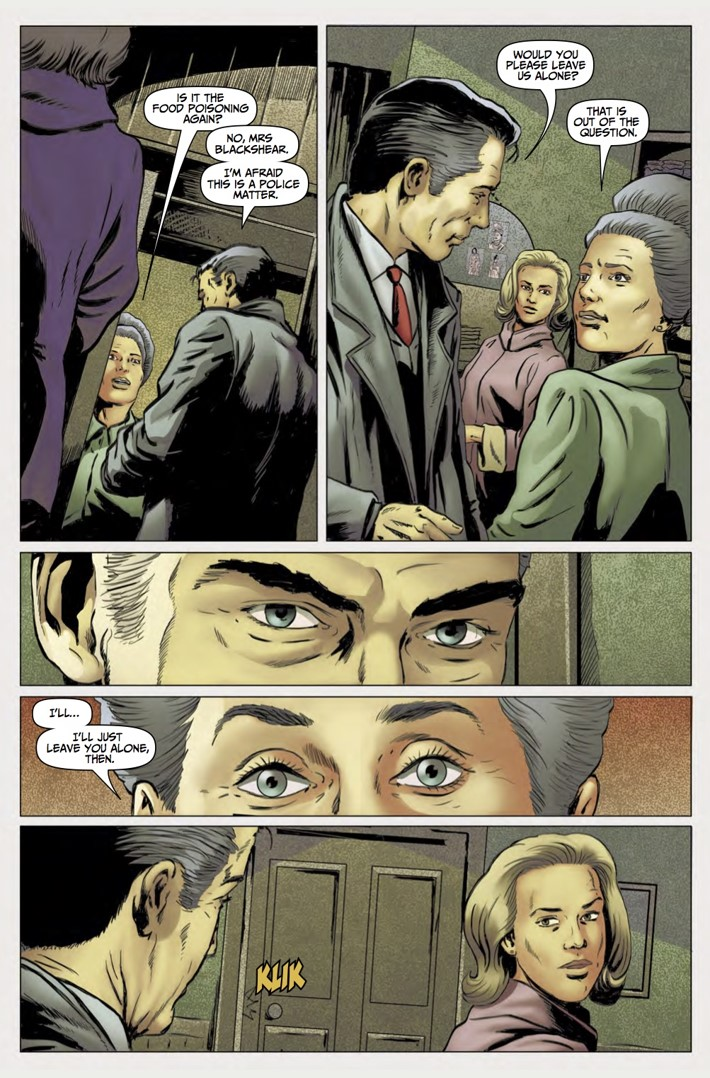 Rivers of London Action At A Distance 4 pg4 ComicList Previews: RIVERS OF LONDON ACTION AT A DISTANCE #4