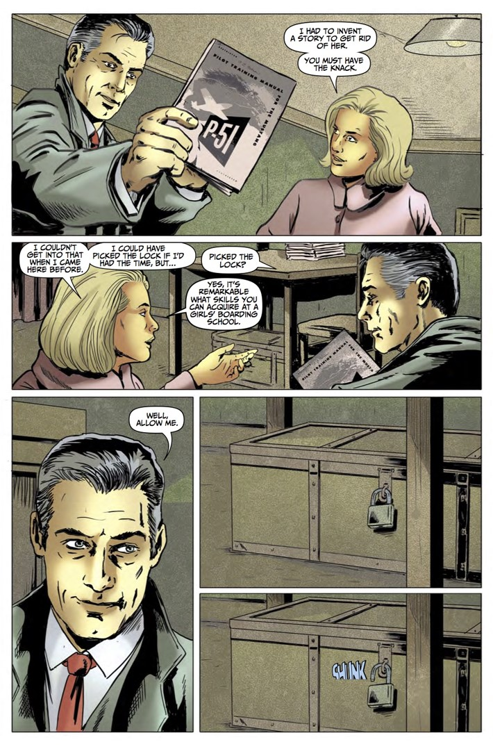 Rivers of London Action At A Distance 4 pg5 ComicList Previews: RIVERS OF LONDON ACTION AT A DISTANCE #4