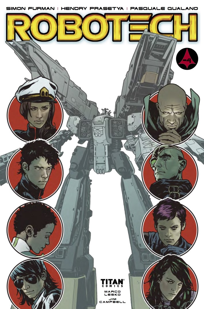 Robotech 17 Cover A ComicList Previews: ROBOTECH #17